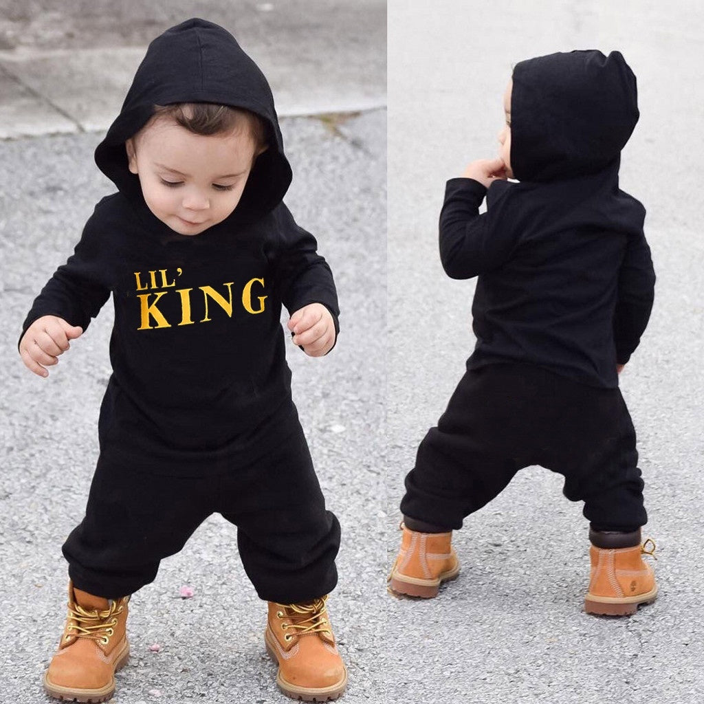 2Pcs/Set Toddler Kids Baby Boy Long Sleeves Letter Hoodie T Shirt Tops+ Camouflage Pants Outfits Clothes Set,Tenue Manches Longues Gar?ons