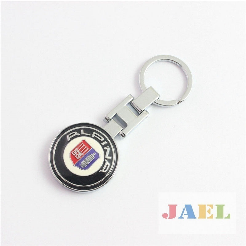 ALPINA Metal Car Key Chain Keyring for B M W E46 E39 E90 E60 E36 F30 F10 E34 X5 E53 E34 F20