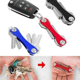 2019 New Aluminum Alloy Key Clip EDC Tool Multi-function Key Storage Accessories