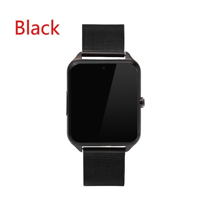 New products Z60 PLUS  Bluetooth Smart Watch Phone Pedometer Sedentary Remind Sleep Monitor Remote Camera compatible with Smartphones iPhone