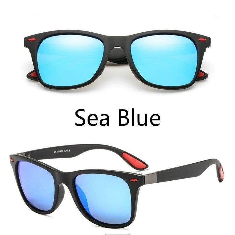 8 Colors Polarized Sunglasses Men Women Driving Square Frame Sun Glasses Male Goggle UV400 Gafas De Sol
