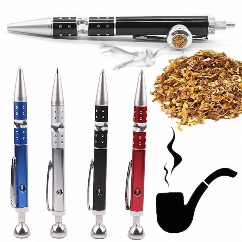 Portable 3colors Mini Women Men Smoker Alloy Metal Filter Smoking Pipes Smoking Pipe