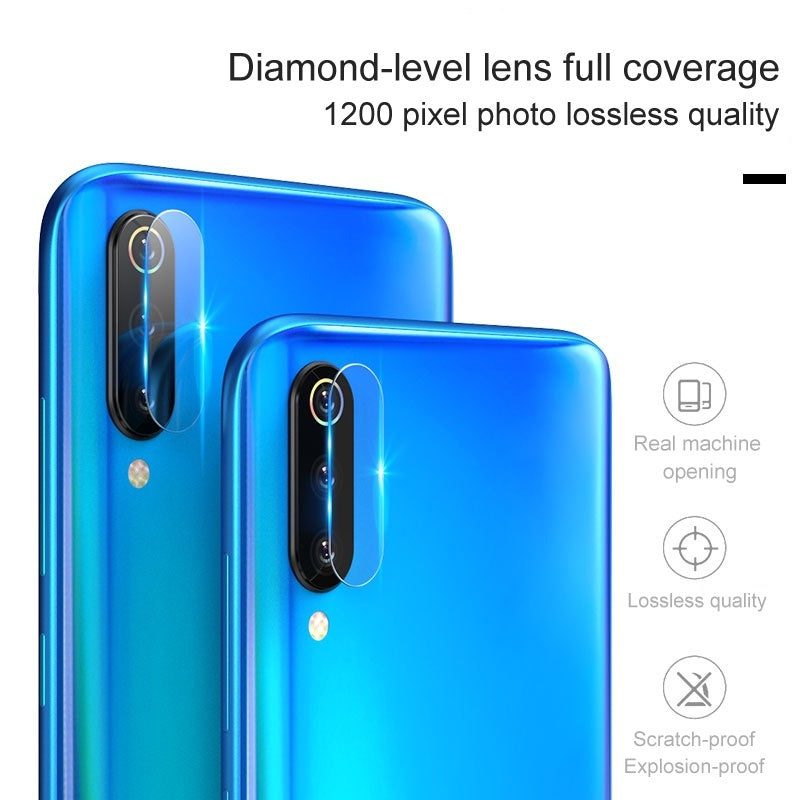 3pcs Tempered Glass for Xiaomi Redmi Note 8 /Note 8 Pro Camera Lens Screen Protector Film Protection Rear Camera Lens