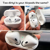 Dust Guard for Apple Airpods Bluetooth Earphone Metal for Airpods 1 2 Air Pods Wireless Headphone Charging Box Dust Proof Case