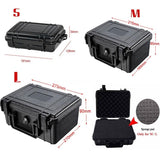 Waterproof Hard Carry Tool Case Bag Storage Box with Sponge for Tools Camera Photography