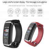 Newest Color Screen Smart Bracelet Fitness Tracker Activity Tracker With Heart Rate Monitor,Blood Pressure Monitor,Sleep Monitor,Step Counter,Calorie Counter For Iphone Android Smartphone