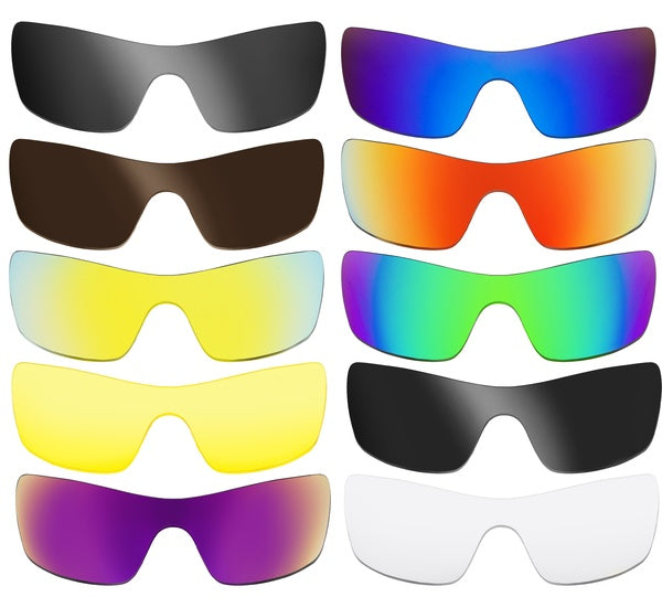Polarized Replacement Lenses for Oakley Batwolf Sunglasses Multiple Anti-Scratch Anti-Glare UV400 by SeekOptics