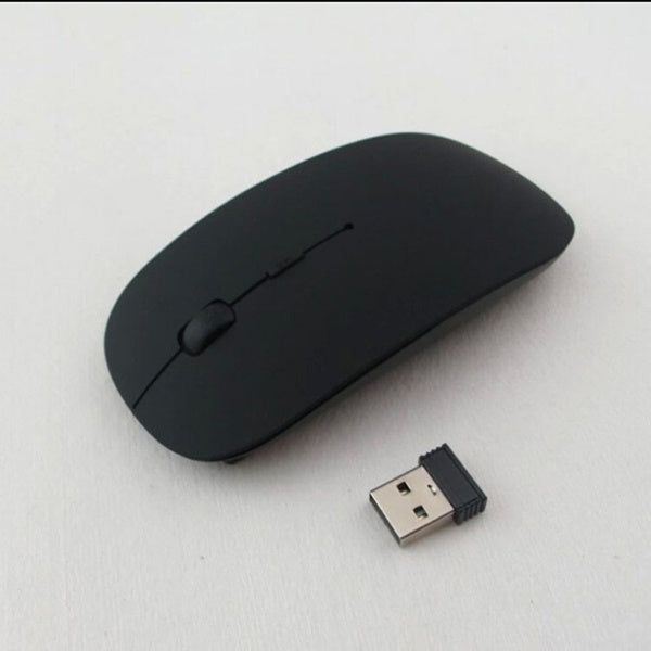 2020 Optical Fashion Silent Wireless Mouse 2.4ghz For Laptop Macbook Mac Mice With USB Receiver 9 Color