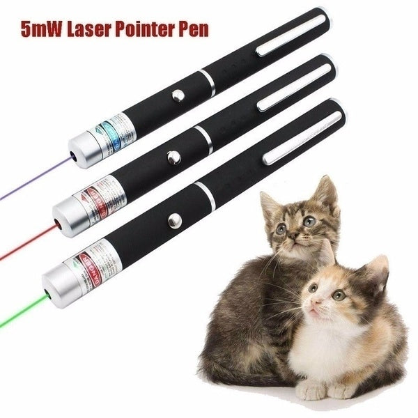 2019 NEW 1Pcs Super Pet Cat Catch LED Pointer Pen Interactive Exercise Toy Light Cat Training Tool-Best for Teasing Cats and Dogs
