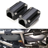 4X 25mm Motorcycle Engine Protection Guard Bumper Decor Block Crash Bar