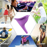 2019 new 1/3Pcs Portable Outdoor Women Reusable Camping Travel Urinal Female Toilet Urine Device