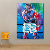 Fashion Prints Wall Art Pop Art Oil Painting Muhammad Ali Poster Canvas paintings For Living Room Decor Unframed