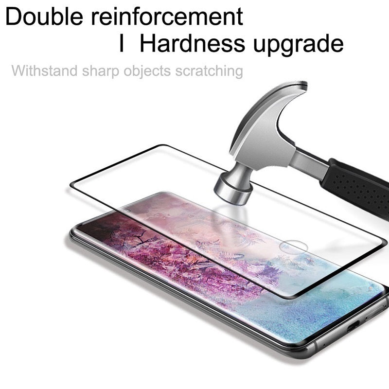 Newest 30D Curved Full Coverage Protective Glass Film Screen Protector For Samsung Galaxy Note 10 Plus Note 9 Note 8 S10 S9 S8 Plus