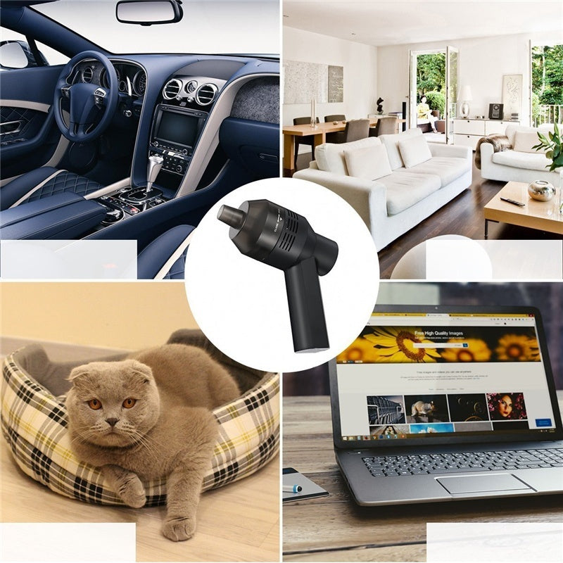 Mini vacuum cleaner can clean keyboard, laptop, car, piano, pet dust