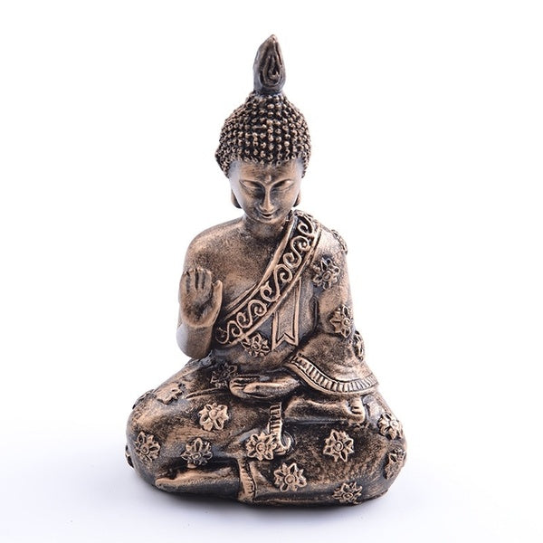 The Meditation Buddha Statue Sculpture Hand Carved Figurine