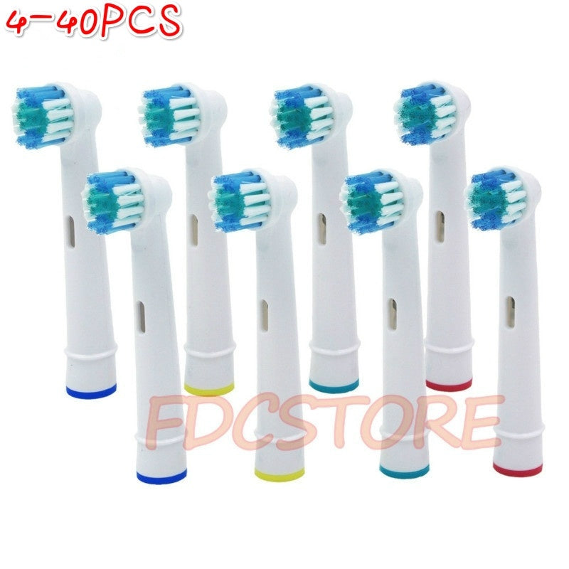 4/8/12/16/20/40/PCS Vitality Rechargeable Electric Toothbrush Heads Replace for Oral-B for Braun Oral B Vitality Precision