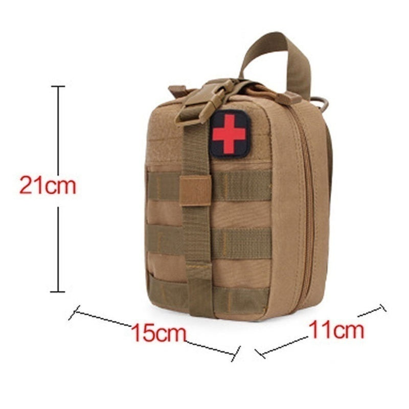 Tactical  First Aid Bag MOLLE EMT Rip-Away Medical Military Utility Pouch rescue package
