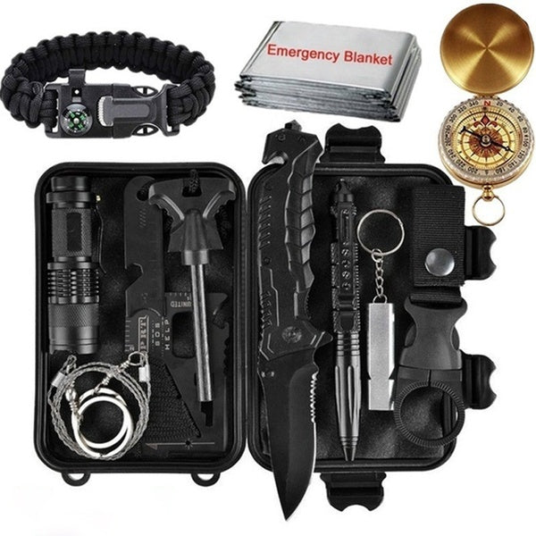Outdoor Travel Outdoor Camping Hiking First Aid & Survival Kits Outdoor Sports Survival Gear Emergency Survival Tactical Gear Kits_CHNG