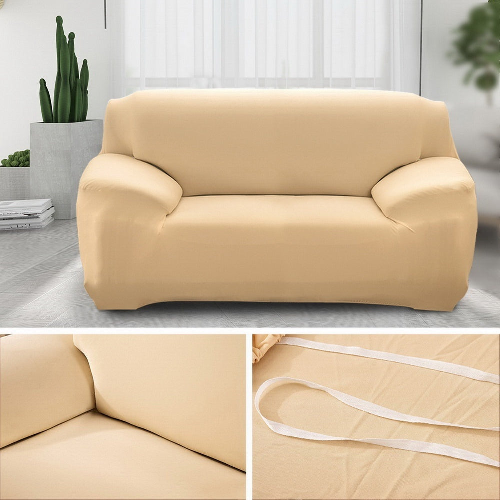 New Fashion Solid Colors Slipcovers Home & Living Sofa Cover 1/2/3/4 Seats Recliner Protector Cover Set