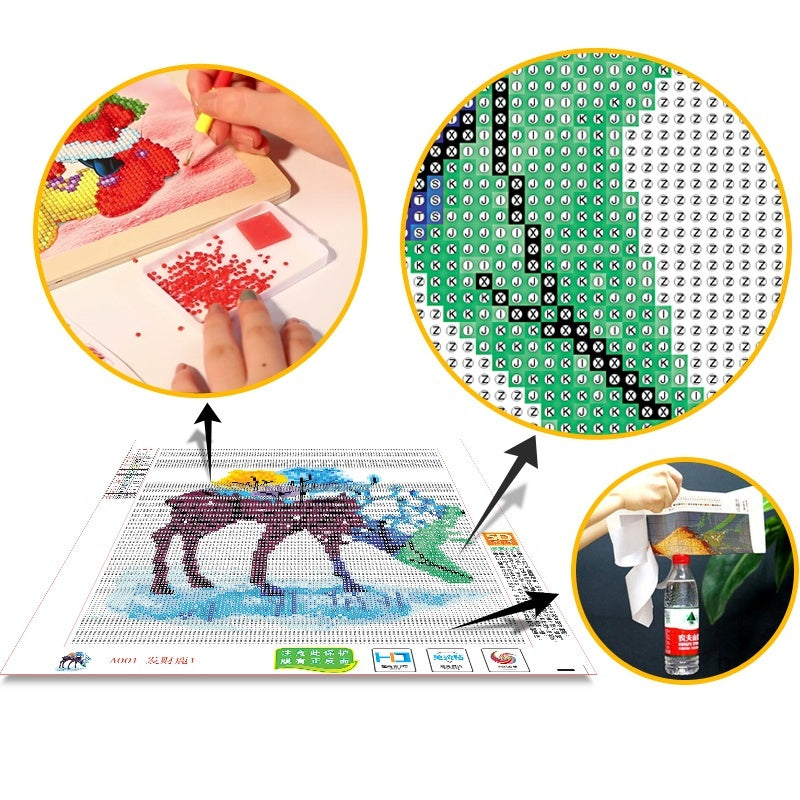 DIY 5D Diamond Painting 'Animal Sloth' Full Round Diamond Embroidery for Festival Gifts