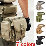 NEW High Quality Waterproof Tactical Military Leg Bag Men's Outdoor Waist Bag Travel Hiking Fishing Leg Pouch
