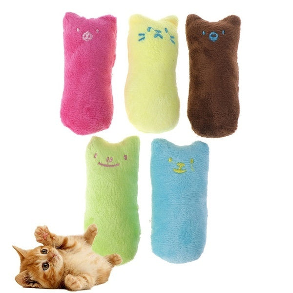 Lovely Style Interactive Fancy Catnip Cat Pillow Toy Teeth Grinding Claws for Pets Funny Toys