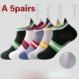 5/10-pair Running Ankle Socks for Men and Women, Low Cut Athletic Sport Tab Socks