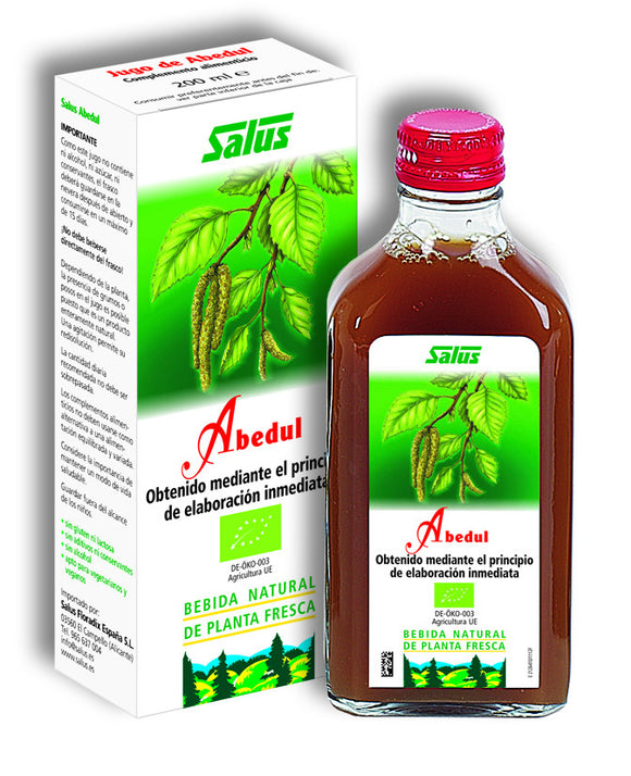Jugo Natural Abedul BIO - 200 ml. Salus