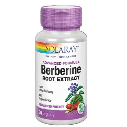 Berberine Root Extract - 60 Cápsulas. Solaray
