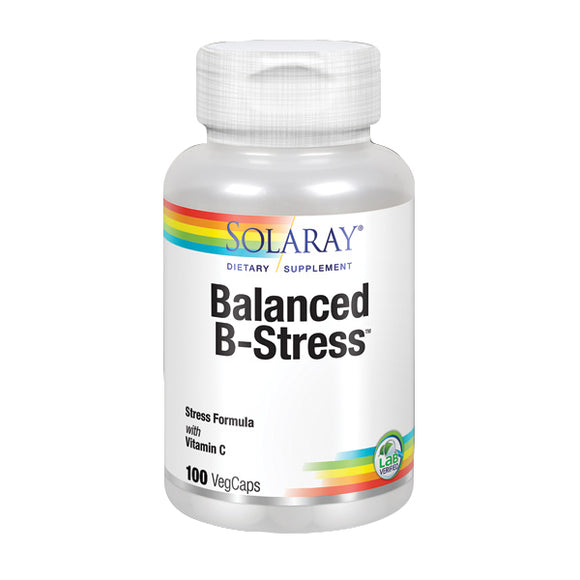 Balanced B Stress - 100 VegCaps. Solaray