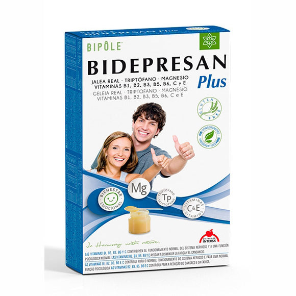 Bidepresan Plus - 20 Ampollas. Dietéticos Intersa