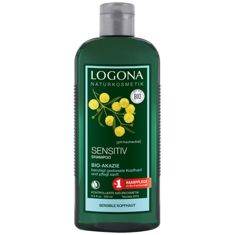 Champú Sensitive. Acacia Bio - 250 ml. Logona