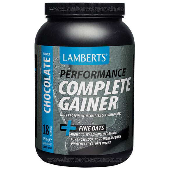 Complete Gainer Sabor a Chocolate - 1.816 g. Lamberts