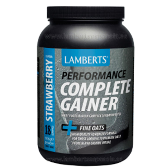 Complete Gainer Sabor a Fresa - 1.816 g. Lamberts