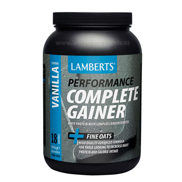Complete Gainer Sabor a Vainilla - 1.816 g. Lamberts