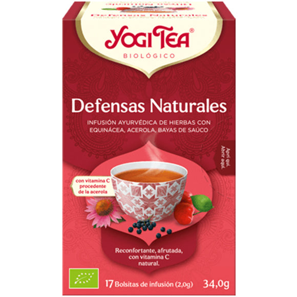 Defensas Naturales - 17 Filtros. Yogi Tea