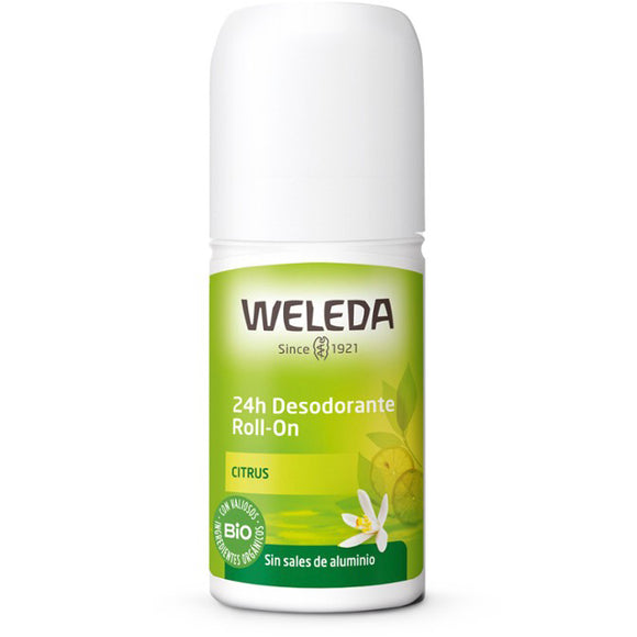 Desodorante Roll On 24h de Citrus BIO - 50 ml. Weleda