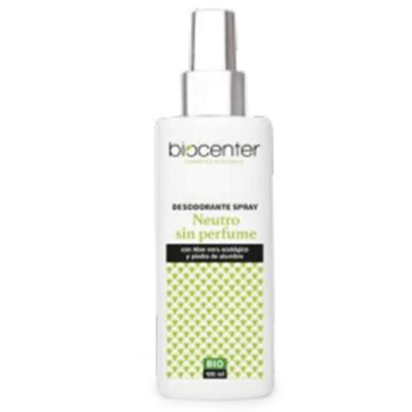 Desodorante BIO Spray Neutro - 100 ml. Biocenter