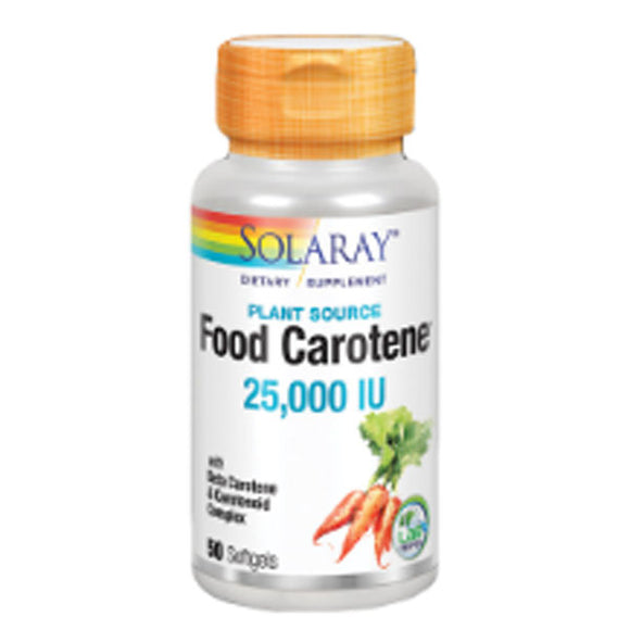 Food Carotene - 50 Perlas. Solaray