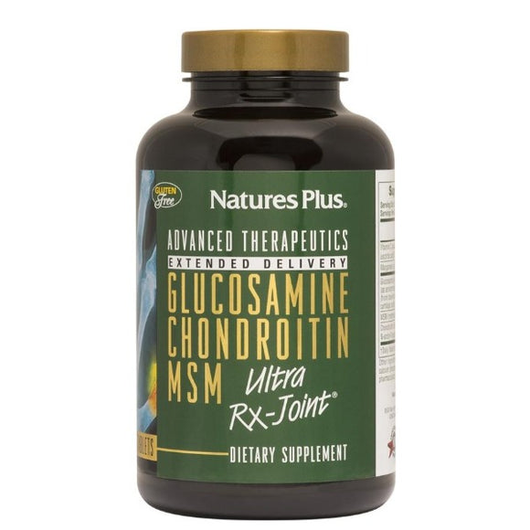 Glucosamine, Chondroitin, MSM  ultra Rx-Joint - 90 Comprimidos. Nature's Plus