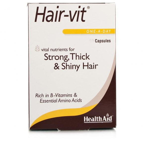 Hair Vit - 30 Cápsulas. Health Aid