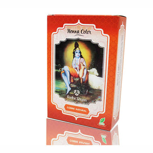 Henna Color - Cobre Natural. Radhe Shyam