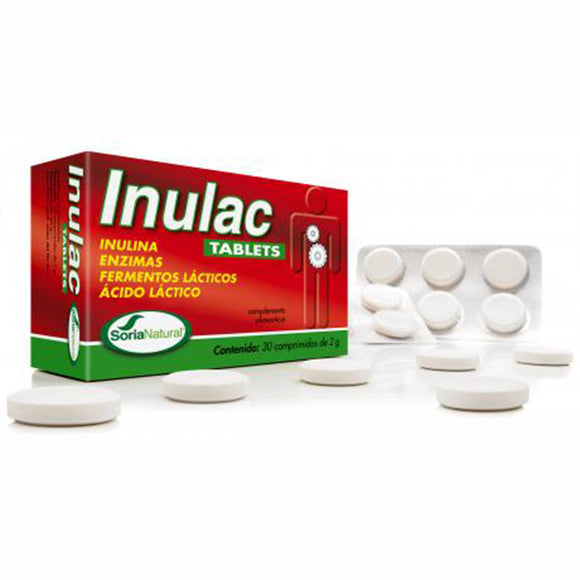 Inulac Tablets - 30 Comprimidos. Soria Natural