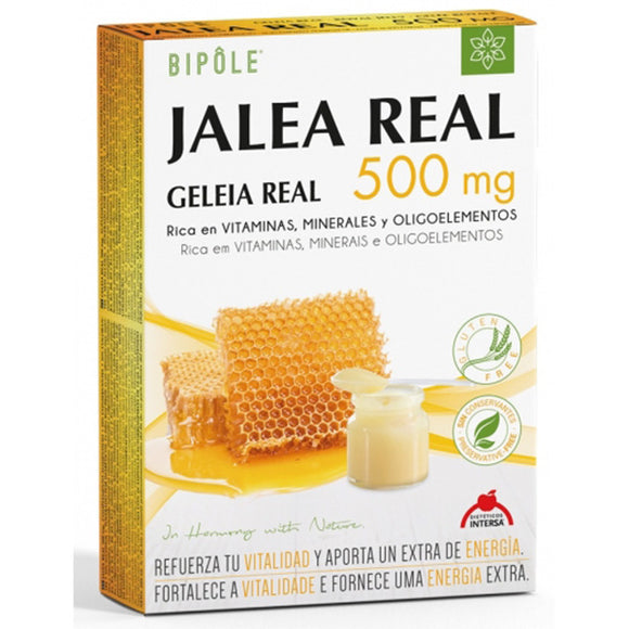 Bipole Jalea Real 500 mg - 20 Ampollas. Dietéticos Intersa