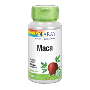 Maca 525 mg - 100 Cápsulas. Solaray