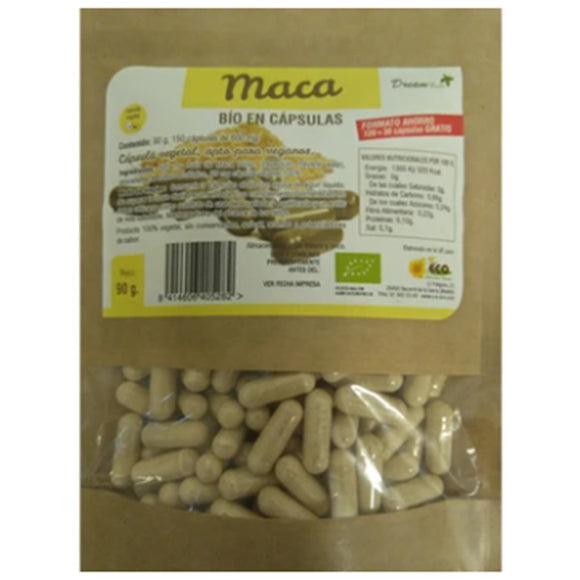 Maca BIO - 150 Cápsulas. Dream Foods