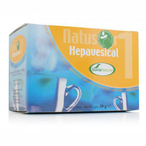 Natusor 1. Hepavesical. Soria Natural.