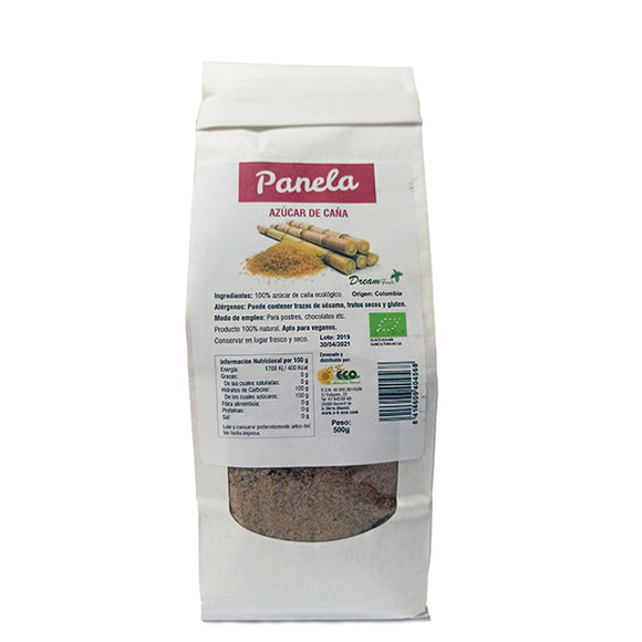 Panela BIO - 500 g. Dream Foods