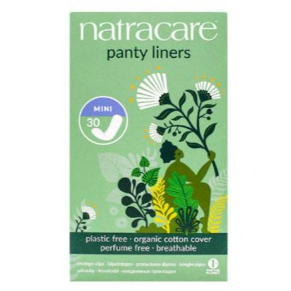 Protege-slips Mini - 30 Unidades. Natracare
