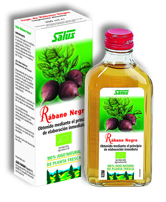 Jugo Natural Rábano Negro - 200 ml. Salus
